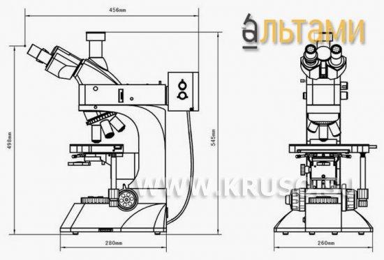 Микроскопы для контроля качества и работ в микроэлектронике