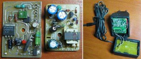 Зарядное устройство аккумуляторов NiMh/NiCd для электроотвертки