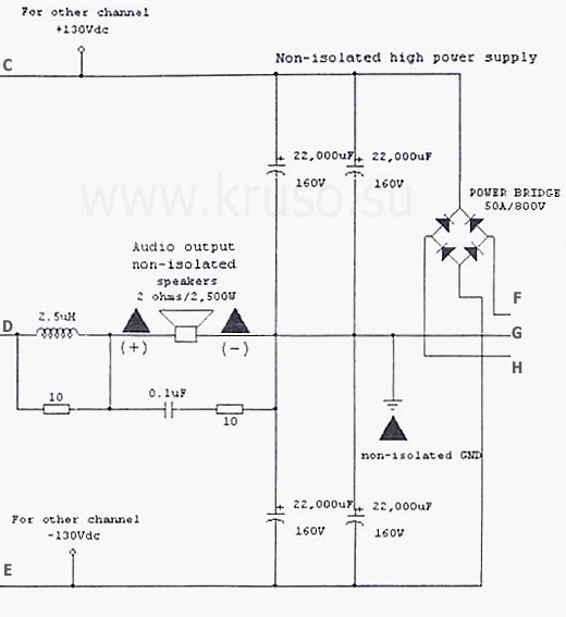 схемы плавного запуска блоков питания усилителей - Практическая схемотехника.