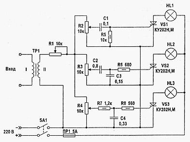 принципиальные схемы драйверов для светодиодов