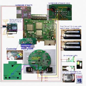 Схемы внешних проводок измерительных приборов