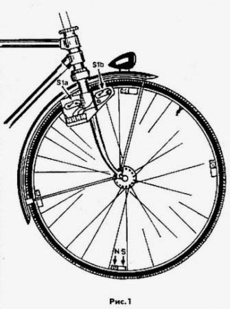 Электрическая схема спидометра для велосипеда.