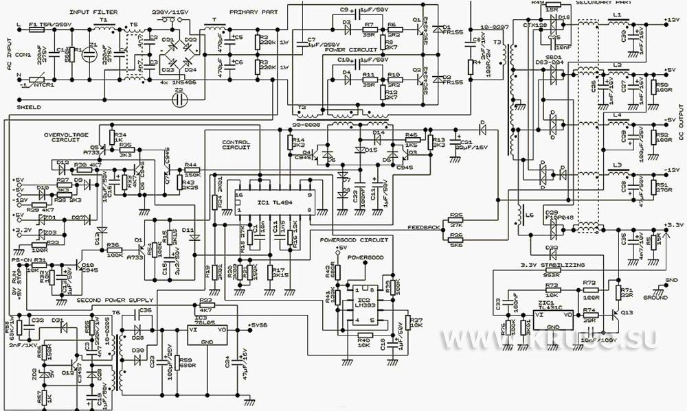 электрическая схема спидометр
