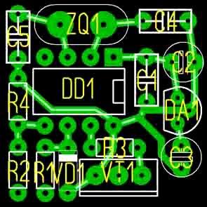 схема электрическая бычок