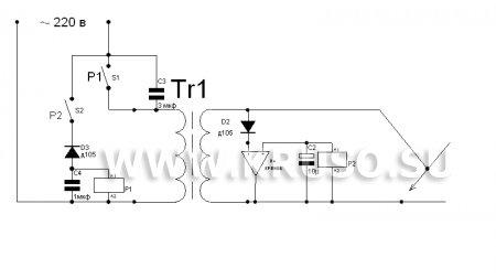Автоматическая защита от залипания электродов